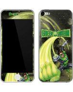 Green Lantern Super Punch  Apple iPod Skin