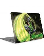 Green Lantern Super Punch  Apple MacBook Air Skin