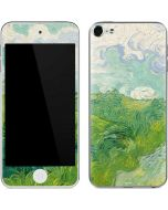 Green Wheat Fields by Vincent van Gogh Apple iPod Skin