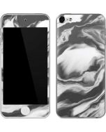 Grey Marble Ink Apple iPod Skin
