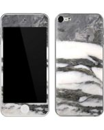 Grey Marbling Apple iPod Skin