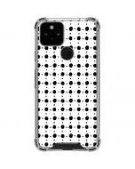 Grid Dot Google Pixel 5 Clear Case