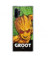 Groot Galaxy Note 10 Plus Clear Case