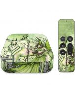 Guardian Fairy and Stag Apple TV Skin