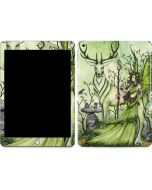 Guardian Fairy and Stag Apple iPad Skin