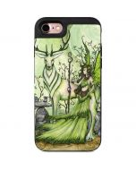 Guardian Fairy and Stag iPhone 7 Wallet Case