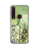 Guardian Fairy and Stag Moto G8 Plus Clear Case