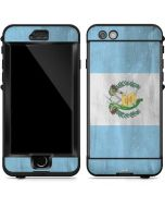 Guatemala Flag Distressed LifeProof Nuud iPhone Skin