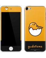 Gudetama Yellow Split Apple iPod Skin