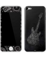 Guitar Pattern Apple iPod Skin