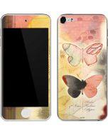 Haiku Butterfly Apple iPod Skin