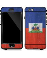 Haitian Flag Distressed LifeProof Nuud iPhone Skin