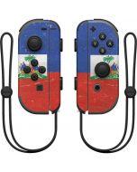 Haitian Flag Distressed Nintendo Joy-Con (L/R) Controller Skin