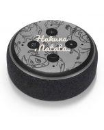 Hakuna Matata Amazon Echo Dot Skin
