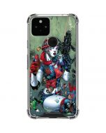 Harley Quinn and Baby Joker Google Pixel 5 Clear Case