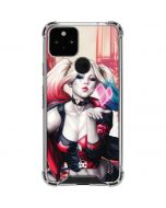 Harley Quinn Animated Google Pixel 5 Clear Case