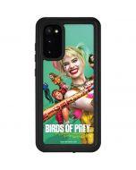 Harley Quinn Birds of Prey Galaxy S20 Waterproof Case