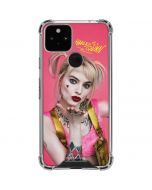 Harley Quinn Blowing Kisses Google Pixel 5 Clear Case