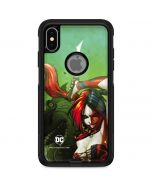 Harley Quinn Fighting Otterbox Commuter iPhone Skin