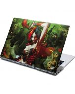 Harley Quinn Fighting Yoga 910 2-in-1 14in Touch-Screen Skin