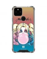 Harley Quinn Mad Love Google Pixel 5 Clear Case