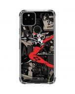 Harley Quinn Mixed Media Google Pixel 5 Clear Case