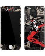 Harley Quinn Mixed Media Apple iPod Skin