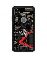 Harley Quinn Mixed Media Otterbox Commuter iPhone Skin