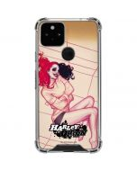 Harley Quinn Sketch Google Pixel 5 Clear Case