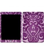 Heart Purple Apple iPad Skin