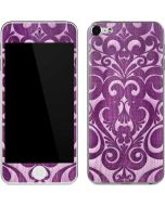 Heart Purple Apple iPod Skin