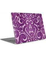 Heart Purple Apple MacBook Air Skin