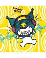 Kuromi Rocker Girl Yellow Stereos HP Envy Skin
