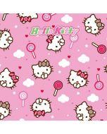 Hello Kitty Lollipop Pattern Nintendo Switch Pro Controller Skin