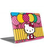 Hello Kitty Balloon Fence Apple MacBook Air Skin