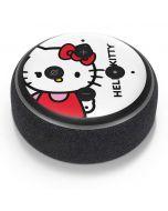Hello Kitty Classic White Amazon Echo Dot Skin