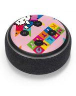 Hello Kitty Colorful Amazon Echo Dot Skin