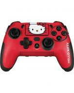 Hello Kitty Cropped Face Red PlayStation Scuf Vantage 2 Controller Skin
