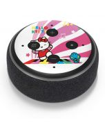 Hello Kitty Dancing Notes Amazon Echo Dot Skin