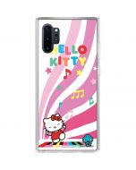 Hello Kitty Dancing Notes Galaxy Note 10 Plus Clear Case