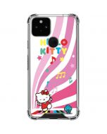 Hello Kitty Dancing Notes Google Pixel 5 Clear Case