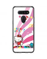 Hello Kitty Dancing Notes LG K51/Q51 Clear Case