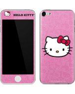 Hello Kitty Face Pink Apple iPod Skin