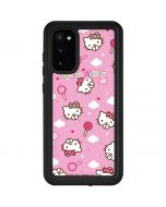 Hello Kitty Lollipop Pattern Galaxy S20 Waterproof Case