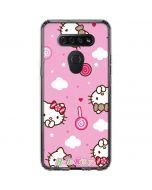 Hello Kitty Lollipop Pattern LG K51/Q51 Clear Case