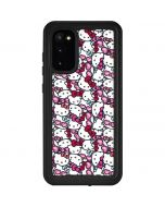 Hello Kitty Multiple Bows Galaxy S20 Waterproof Case