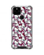 Hello Kitty Multiple Bows Google Pixel 5 Clear Case
