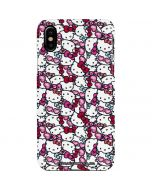 Hello Kitty Multiple Bows iPhone XS Lite Case