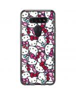Hello Kitty Multiple Bows LG K51/Q51 Clear Case