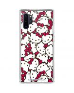 Hello Kitty Multiple Bows Pink Galaxy Note 10 Plus Clear Case